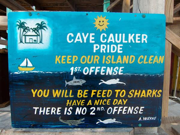 Caye Caulker -> Dangriga