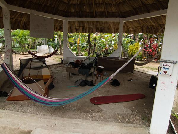 Flores -> El Ceibo -> Palenque